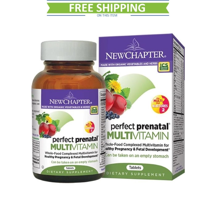 New Chapter Perfect Prenatal 270T Trimester Free Shipping