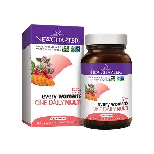 New Chapter Every Woman's 1 Daily 55+ Multivitamin 24T