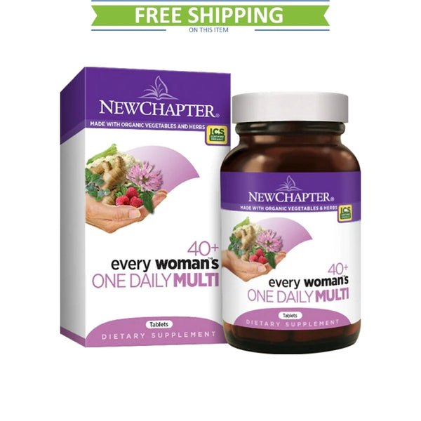 New Chapter Every Woman One Daily  40+ 96T Free Shipping