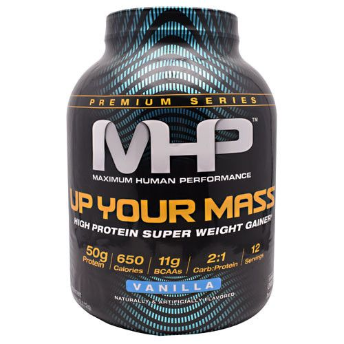 MHP Up Your Mass 5lb Vanilla