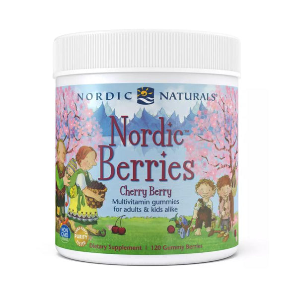 Nordic Naturals Nordic Berries Cherry Berry 120ct