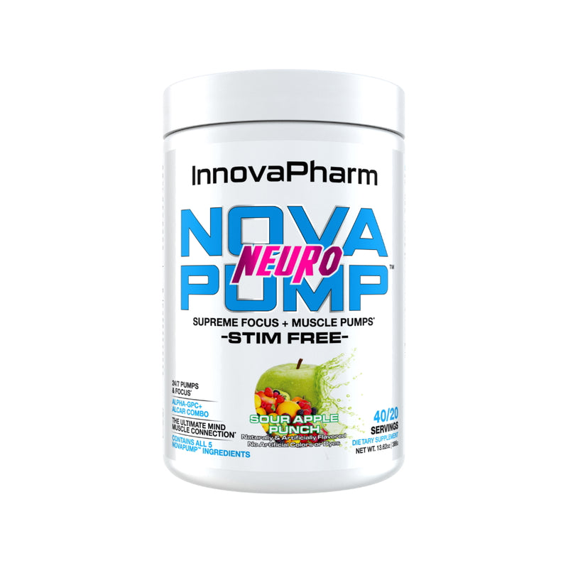 InnovaPharm NovaPump Neuro 20 Servings Sour apple Punch