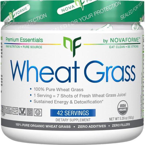 Nova Forme Wheat Grass Powder 42 Servings