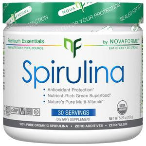 Nova Forme Spirulina Powder 30 Servings - Discontinued