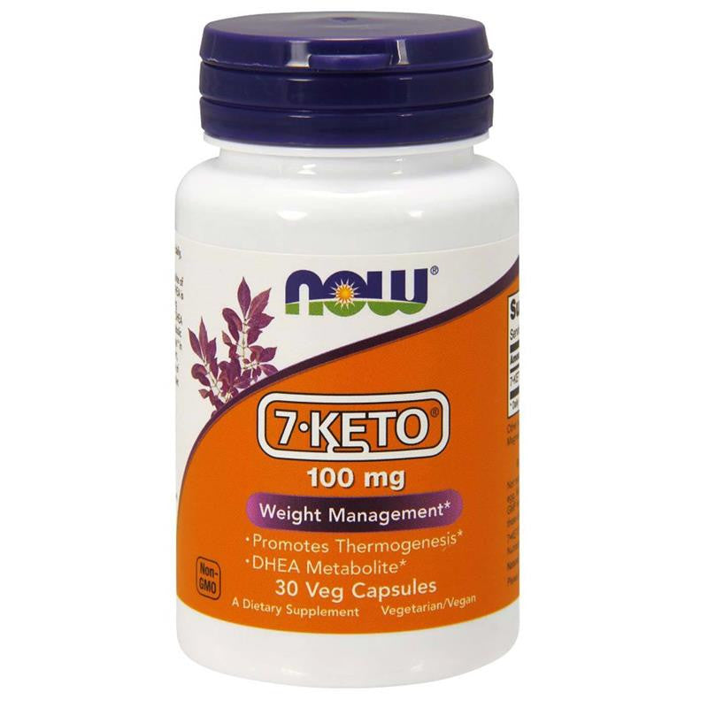 Now Foods 7-KETO 100mg 30 Veg Caps