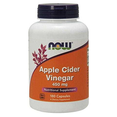 Now Foods Apple Cider Vinegar 450mg