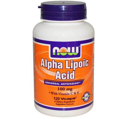 Now Foods Alpha Lipoic Acid 100mg 60VC