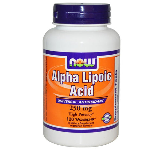 Now Foods Alpha Lipoic Acid 250mg 60VC
