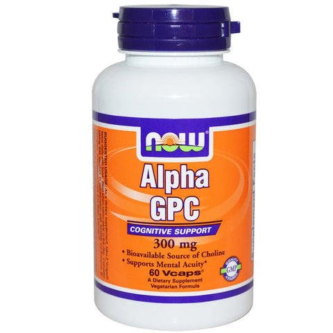 Now Foods Alpha GPC 300mg 60VC