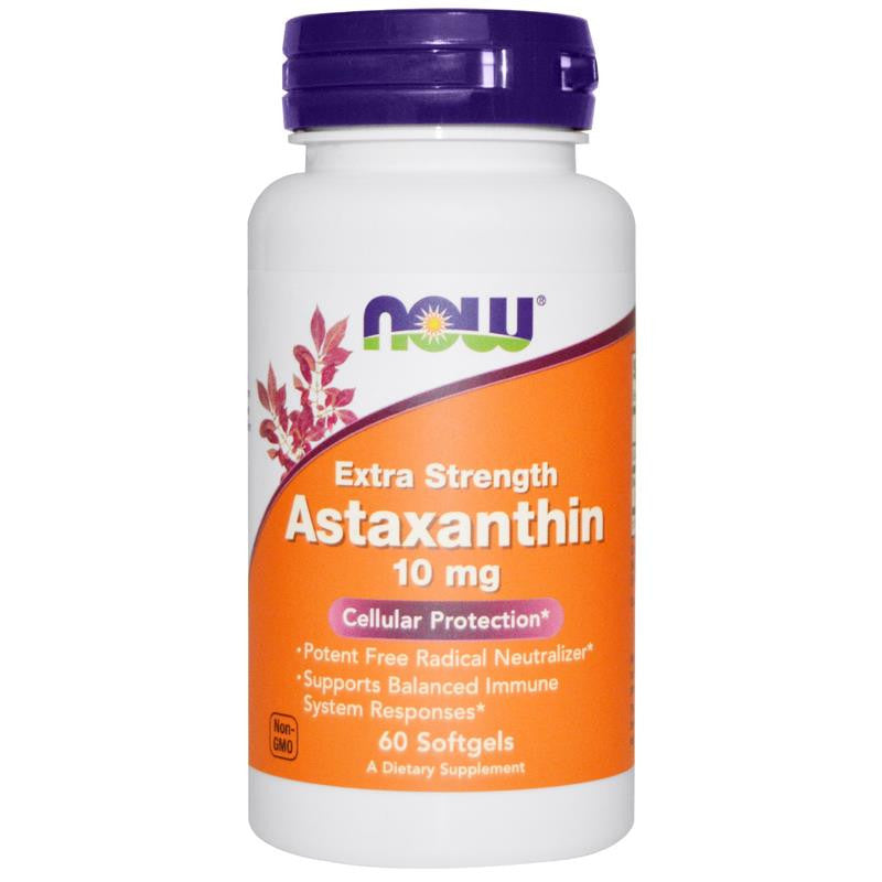 Now Foods Astaxanthin 10mg 60SG