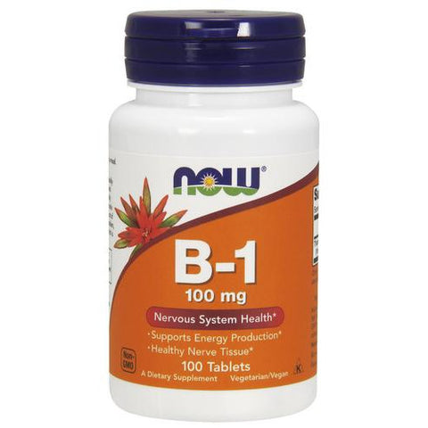 Now Foods B-1 (Thiamine) 100mg 100T
