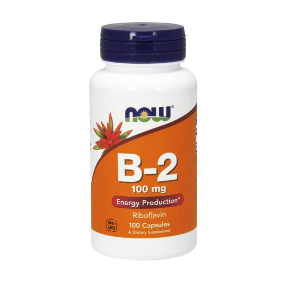 Now Foods B-2 (Riboflavin) 100mg 100C