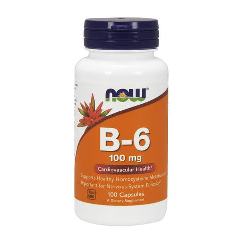 Now Foods B-6 100mg 100c