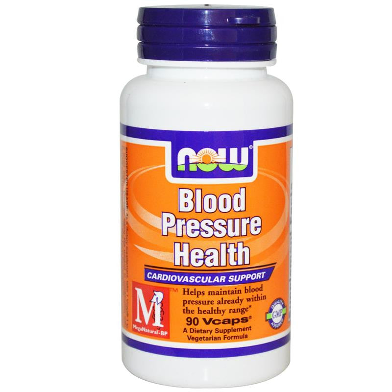 Now Foods Blood Pressure Health 90 Vegetable Capsules