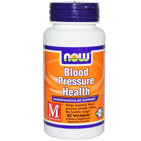Now Foods Blood Pressure Health 90VC