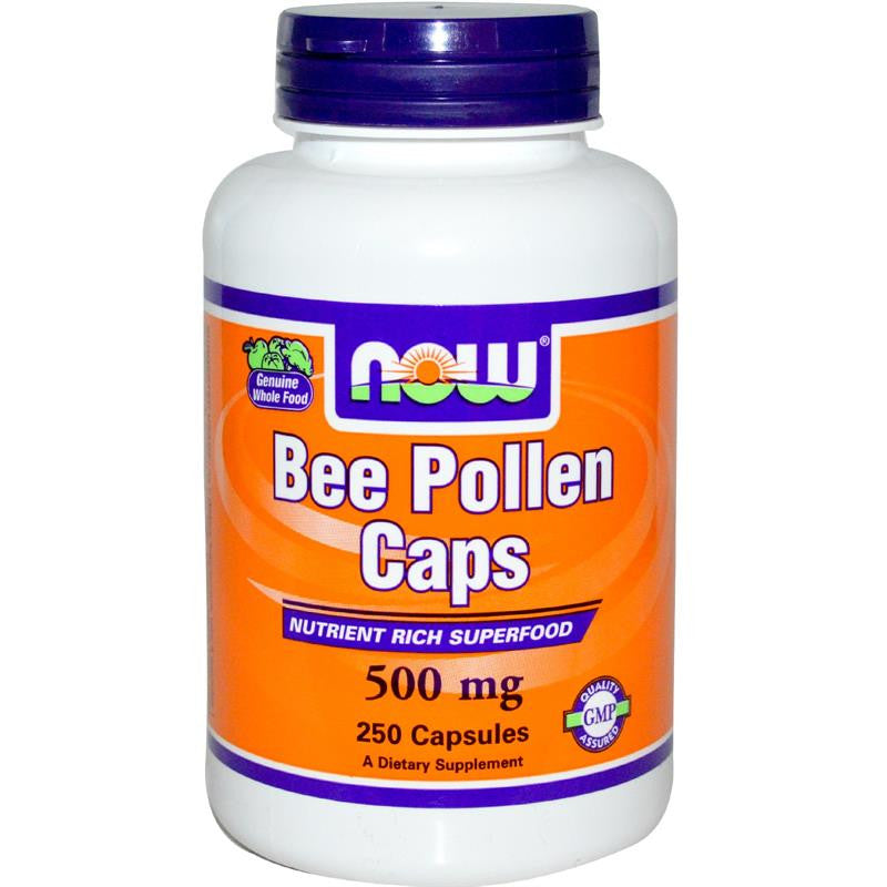 Now Foods Bee Pollen 500mg 100C