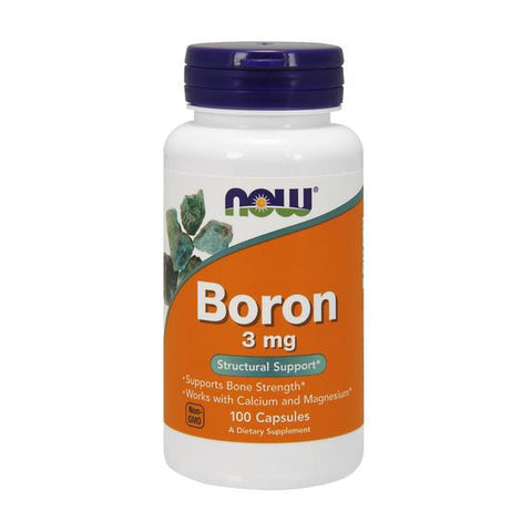 Now Foods Boron 3mg 100C