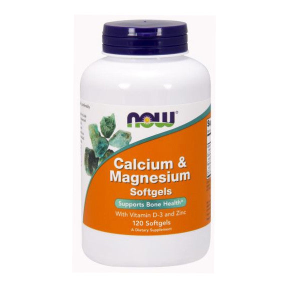 Now Foods Calcium & Magnesium with D-3 and Zinc 1000mg  120SG