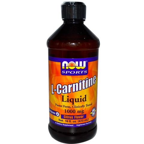 Now Foods L-Carnitine Liquid 1000mg 16oz