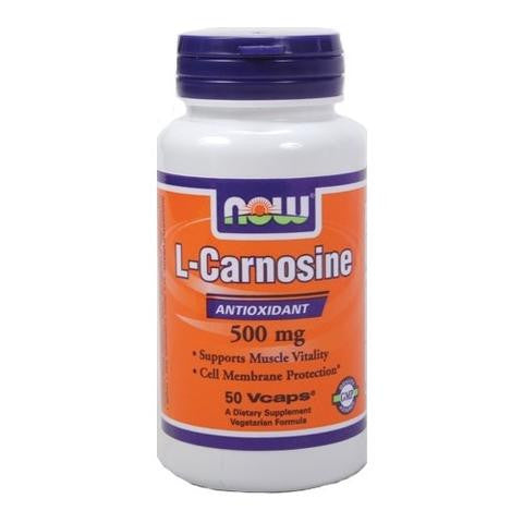 Now Foods L-Carnosine 500mg  50VC