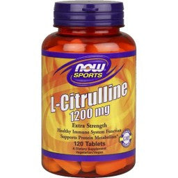Now Foods L-Citrulline 1200mg 120T
