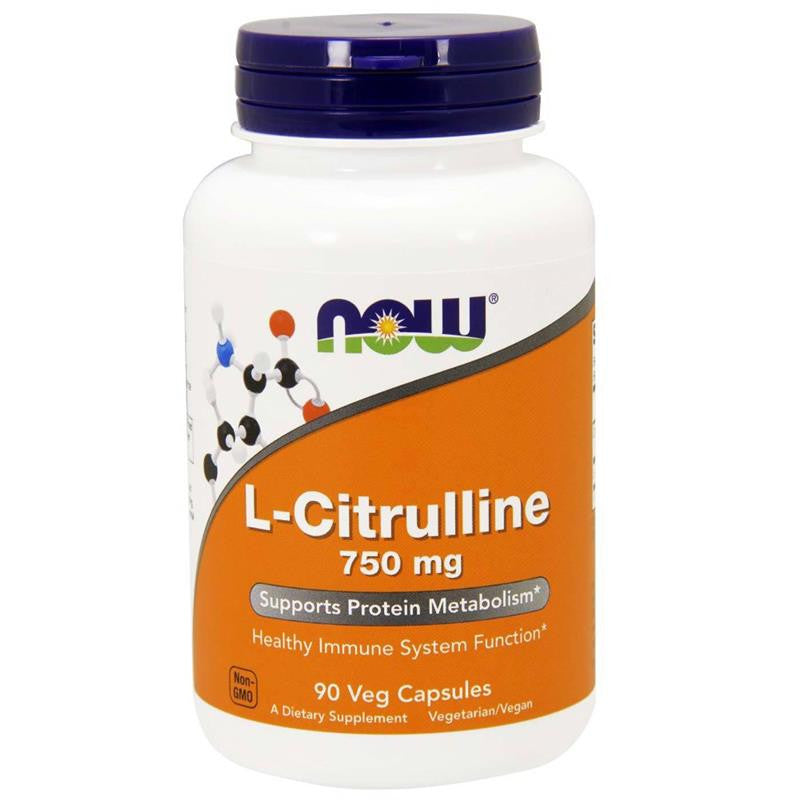 Now Foods L-Citrulline 750mg 90VC