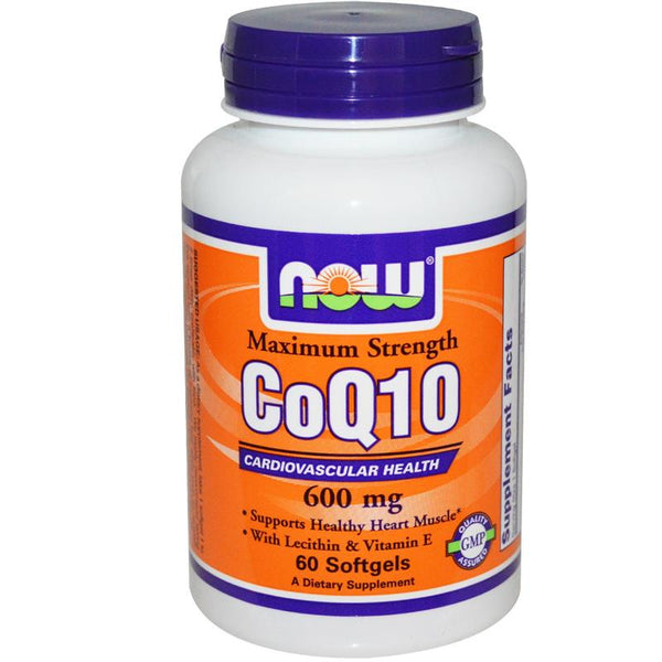Now Foods CoQ10 600mg 60SG
