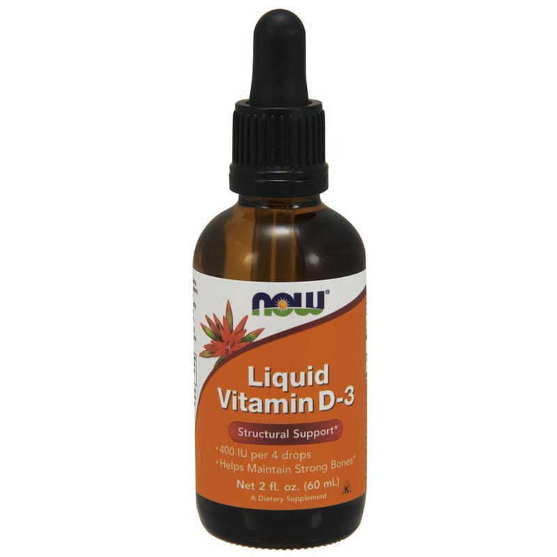 Now Foods Vitamin D3 Liquid 400IU 2oz