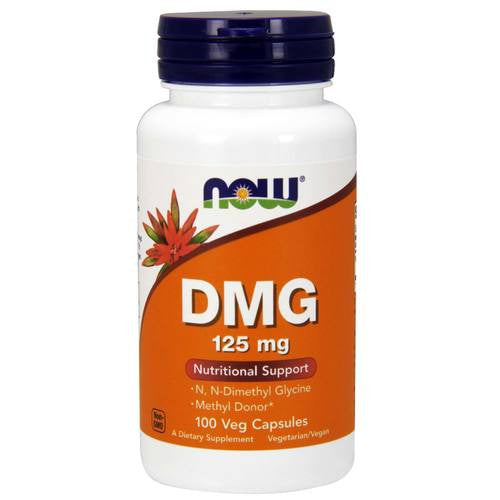 Now Foods DMG (Dimethylglycine) 125mg 100VC