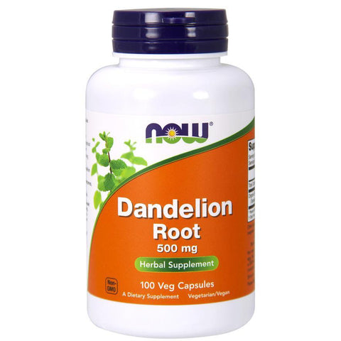 Now Foods Dandelion Root 500mg 100VC
