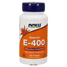 Now Foods E-400 with Mixed Tocopherols 100SG