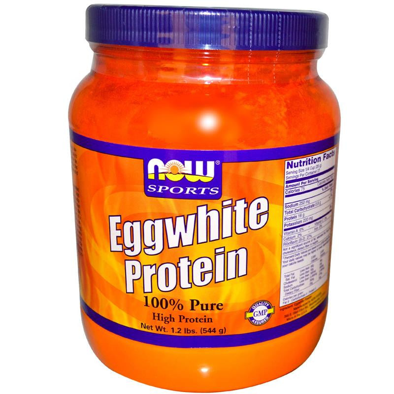 Now Foods Egg white Protein Powder 1.2lbs Unflavored