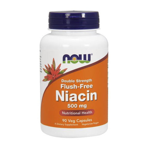 Now Foods Flush Free Niacin 500mg 90VC