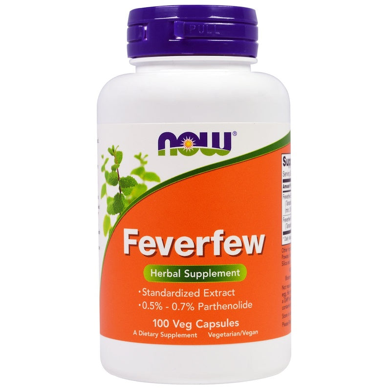 Now Foods Feverfew 100c
