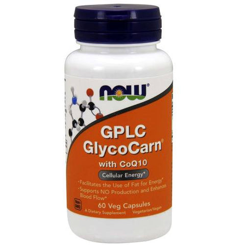 Now Foods GPLC Glyco-Carn + CoQ10 500mg 60VC
