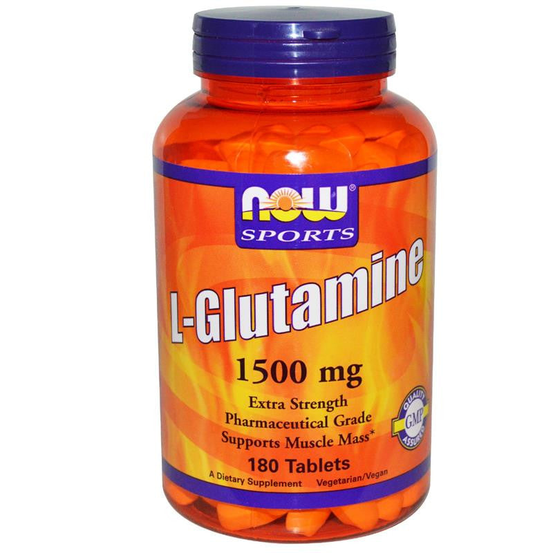 Now Foods L-Glutamine 1500mg 180T
