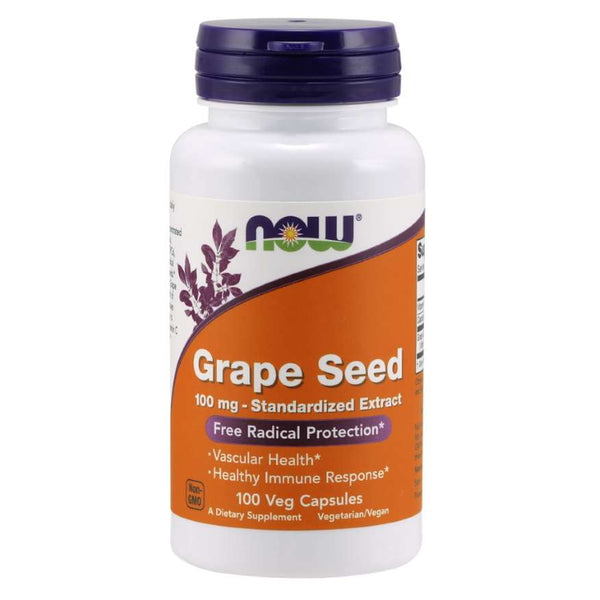 Now Foods Grape Seed 100mg 100c