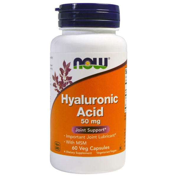 Now Foods Hyaluronic Acid 50mg 120VC