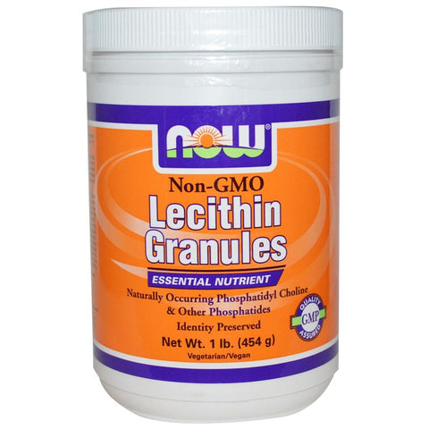 Now Foods Lecithin Granules (Non-GMO)  1lb