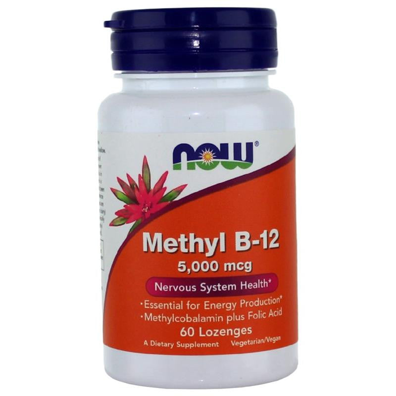 Now Foods Methyl B-12 5000mcg 60L