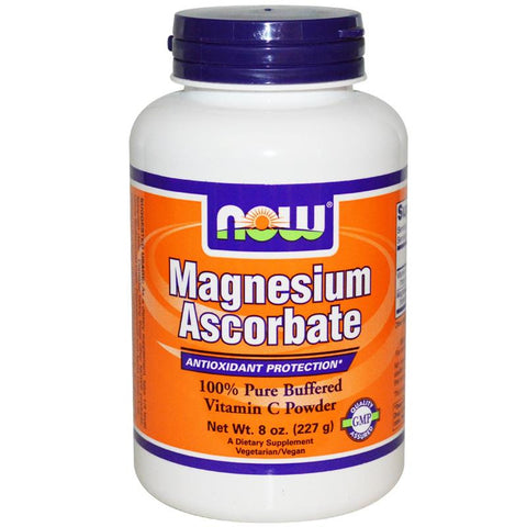 Now Foods Magnesium Ascorbate Powder 8oz