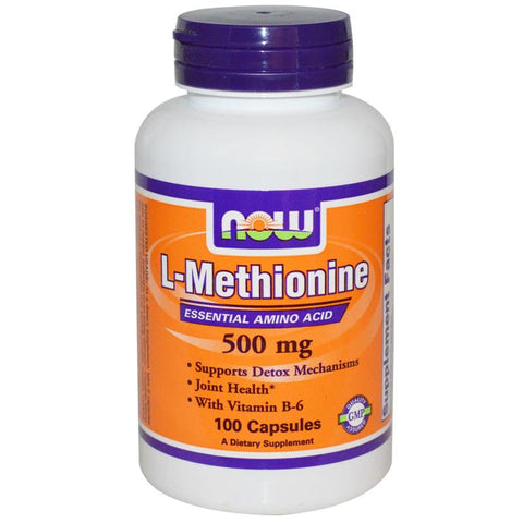 Now Foods L-Methionine 500mg 100C