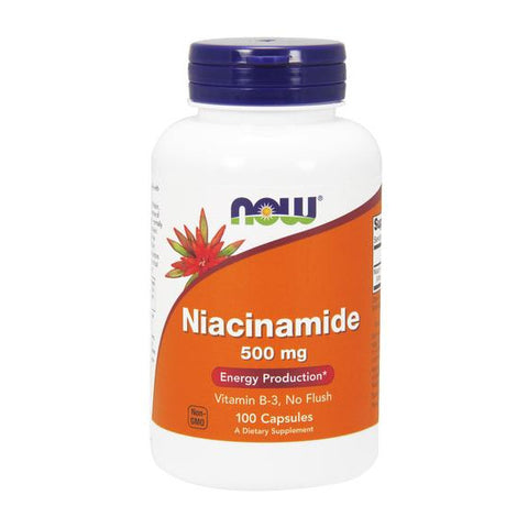Now Foods B-3 Niacinamide 500mg 100C