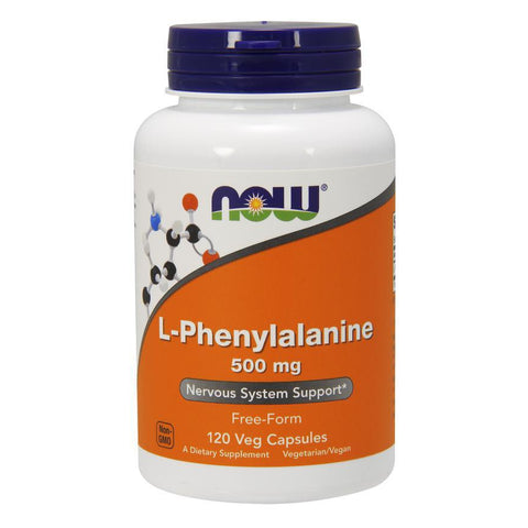 Now Foods L-Phenylalanine 500mg 120VC
