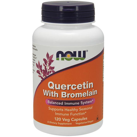 Now Foods Quercetin with Bromelain 120VC