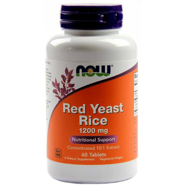Now Foods Red Yeast Rice 1200mg 60T