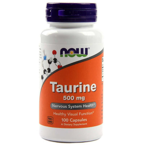Now Foods Taurine 500mg 100C