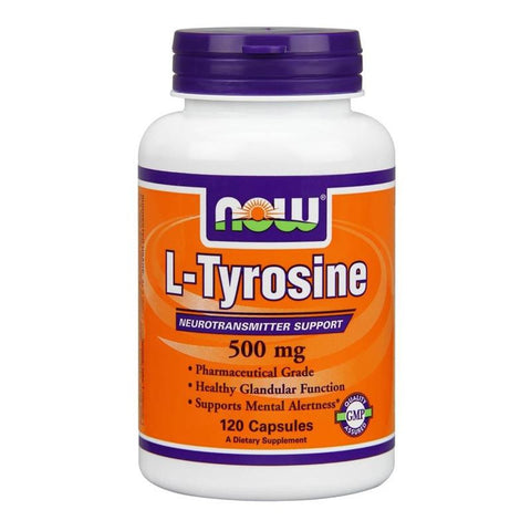 Now Foods L-Tyrosine 500mg 120C