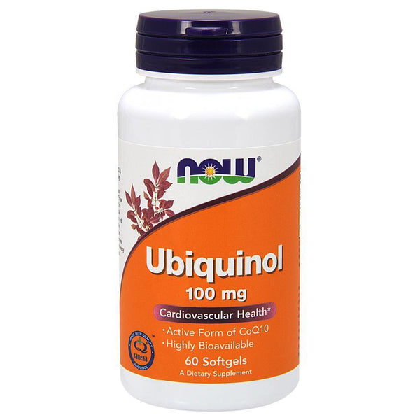 Now Foods Ubiquinol 100mg 60 Soft Gels