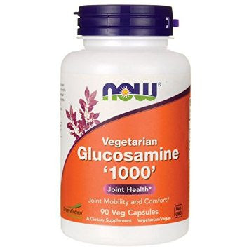 Now Foods Vegetarian Glucosamine 1000mg 90VC
